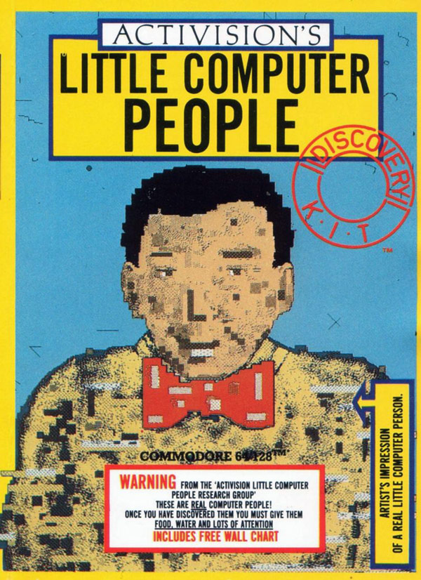 Little Computer People Box Art